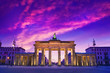 canvas print picture - Berlin