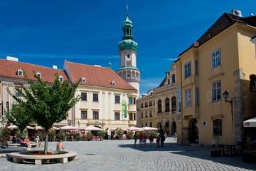Main square in Sopron