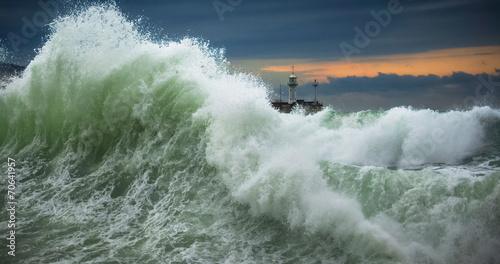 Stormy sea - 70641957