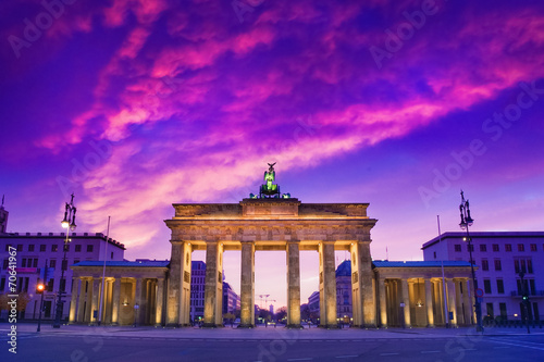 canvas print picture Berlin