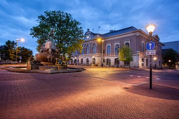 Bibliotheek library Leeuwarden Holland