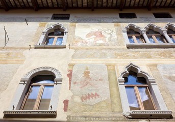 Historic Palace in Spilimbergo, Italy