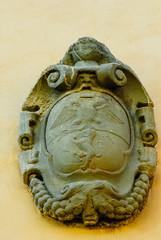 Fregio decorazione, stemma araldico nobile