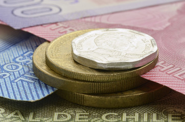 Peso chileno Chilean Chilenischer 智利比索 Чилийское песо Chilensk