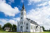 Kościół katolicki św. Jana Chrzciciela w Schulenburgu w Teksasie.