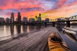 Sunset Landscape of Portland, Oregon, USA. - 70645525