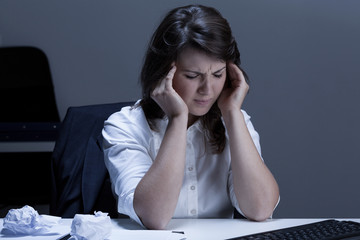Migraine during work in the office