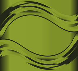 Liquid green background