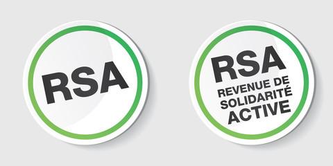 RSA - revenu de solidarité active