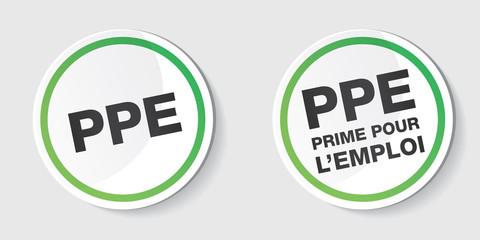 PPE - prime pour l'emploi