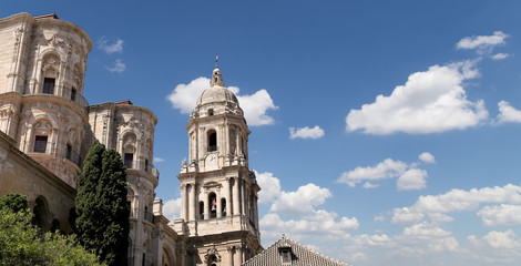 Cathedral of Malaga --Andalusia, southern Spain.