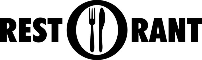 Picto assiette et couverts RESTAURANT 3