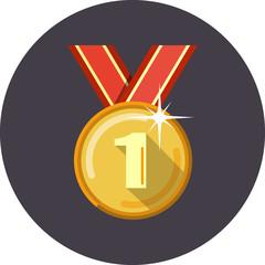 Vector Golden Medal