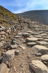 Llanberis path to Snowdon mountain