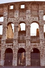 Retro look Colosseum Rome