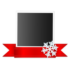 Christmas and New Year's background with place for your design