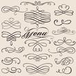 calligraphy vintage elements - 70653780