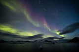 Fototapeta Northern Lights - Arctic landscape