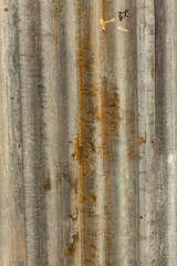 .old corrugated roof