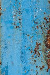old painted metal