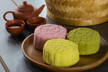 mooncakes festival in china