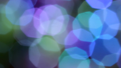 Rotating Colorful Bokeh Background in full HD 08