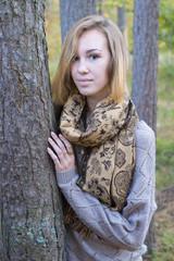 girl - autumn