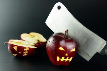 Cutting evil apple