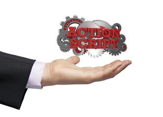 action script businessman