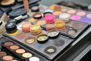 cosmetics closeup