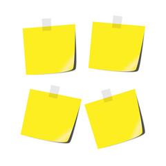Yellow tabs