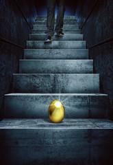 find a golden egg