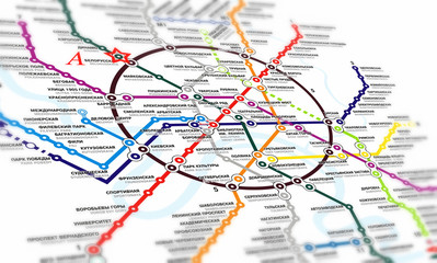 Map subway