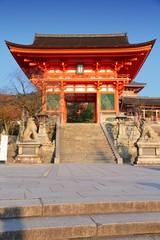 Japan - Kyoto landmark, Kiyomizu Dera temple