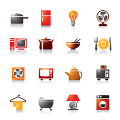 Houseware Colorful Icons