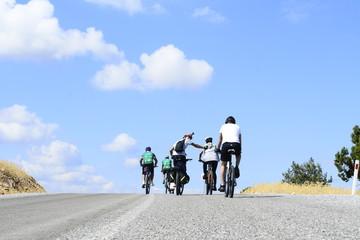 bisikletle yokuş çıkmak