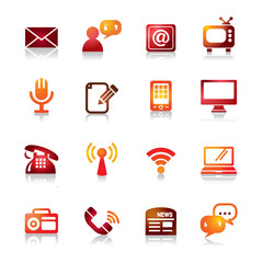 Communication Colorful Icons
