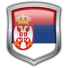 Serbia shield