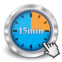 15 MINUTES ICON