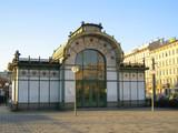 Otto Wagner Pavillon auf dem Karlsplatz in Wien, Jugendstil