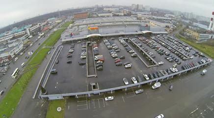 Large Parking at city