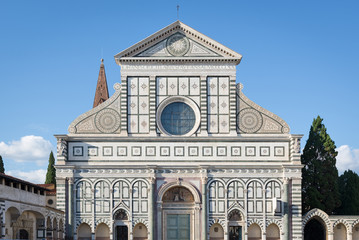 Santa Maria Novella, the city's principal Dominican church. Flor
