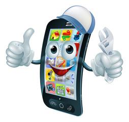 Mobile phone repair character