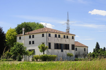 Big country house near Venice