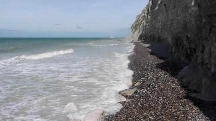Coastline near Calais, France