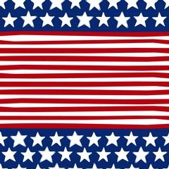 paski i gwiazdy czerwony niebieski biały deseń w elementy flagi