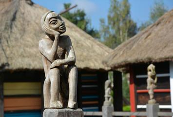 The oriental statuette