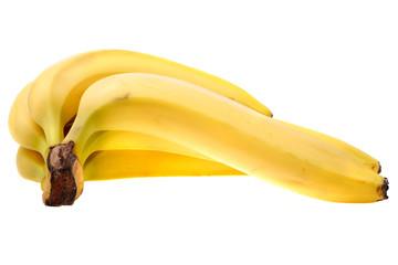 Delicious yellow bananas