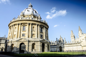 Radcliffe Camera at the university of Oxford