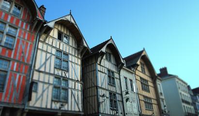 Maison Urbaines à Colombages Troyes en Champagne